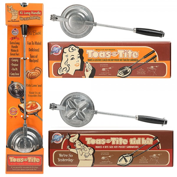 Toas-Tite® Pie Iron 3-Pack